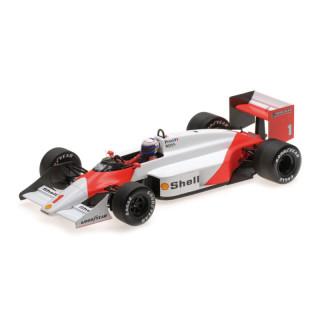 McLaren Tag Porsche MP4/7 F1 1987 Alain Prost 1:18