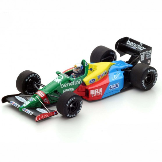 Benetton Ford B188 F1 1988 19 Alessandro Nannini  3rd British GP 1:43