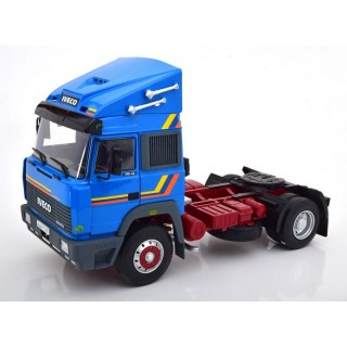 Iveco Turbostar 190-42 1988 Blue 1:18