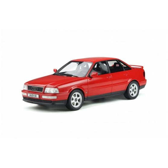 Audi 80 Quattro Competition 1994 Laser Red 1:18