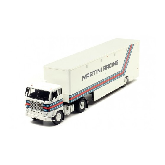 "Volvo F88 Brabham Alfa Romeo ""Martini Racing"" Racing transporter  1:43"