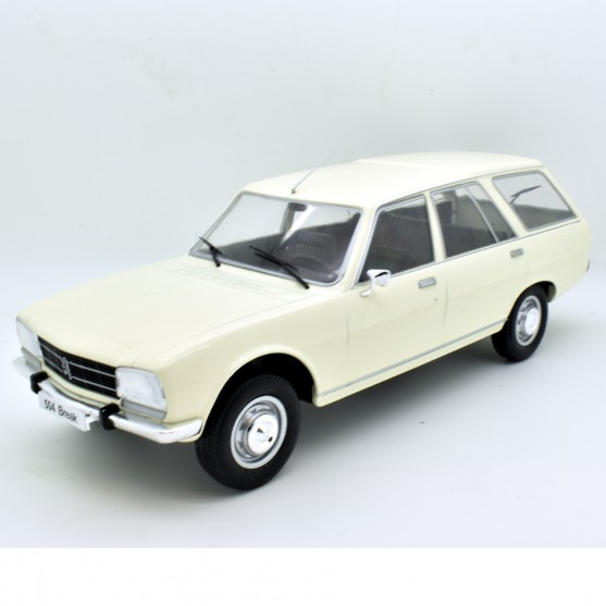 Peugeot 504 Break 1976 white 1:18