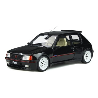 Peugeot 205 Dimma 1989 Black 1:18