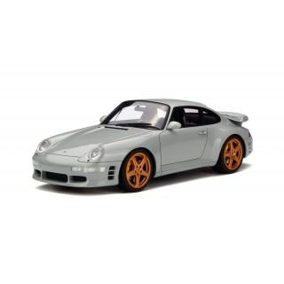 Porsche Ruf Turbo R grigio 1:18