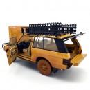 Land Rover Range Rover Camel Trophy Papua Nuova Guinea 1982  Dirty Version 1:18