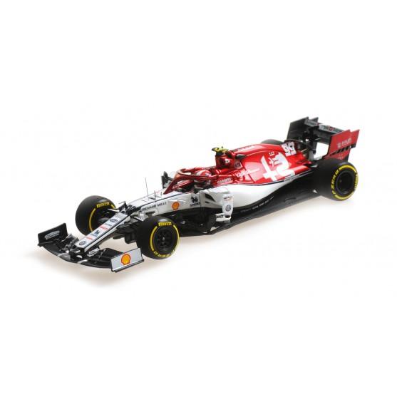 Alfa Romeo Racing F1 Team C38 2019 Monaco GP Antonio Giovinazzi 1:43