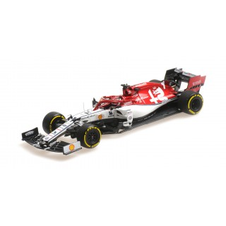 Alfa Romeo Racing F1 Team C38 2019 Monaco GP 300th start Kimi Raikkonen 1:43