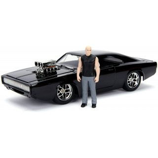 Dodge Charger R/T Dom's 1970 Fast & Furious Kit Montaggio 1:24