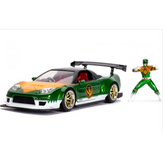 Honda NSX Type R Japan Spec 2002 Candy Green with Green Ranger 1:24