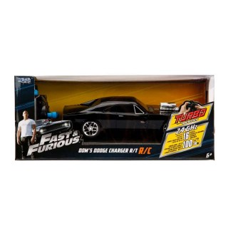 Dodge Charger R/T Dom's 1970 Fast & Furious 8 Radiocomando R/C 1:24