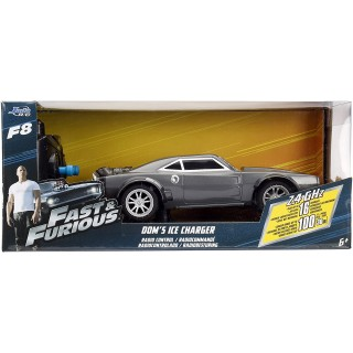 "Doms Ice Charger ""Fast & Furious 8"" Radiocomando R/C 1:24"