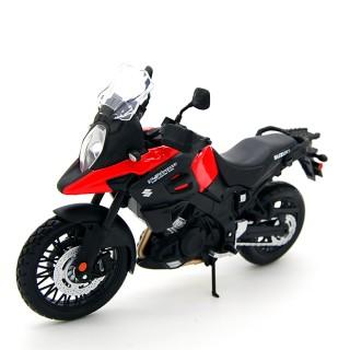 Suzuki V-Strom Red Black 1:12