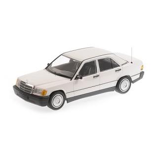 Mercedes-Benz 190E (W201) 1982 White 1:18