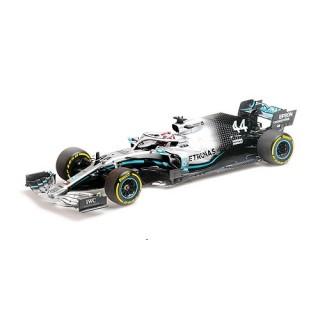 Mercedes Amg Petronas W10 F1 2019 Lewis Hamilton Winner USA Gp 1:18