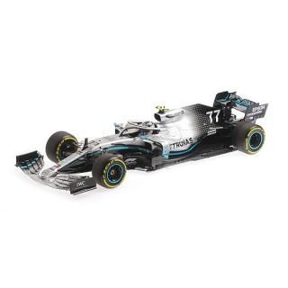Mercedes AMG F1 W10 EQ Power+ 2nd Place Chinese GP 2019 Valtteri Bottas 1:18