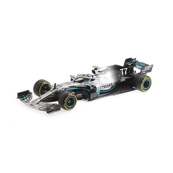 Mercedes AMG F1 W10 EQ Power+ 2nd Place Chinese GP 2019 Valtteri Bottas 1:18