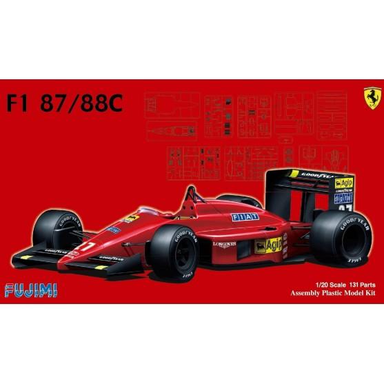 Ferrari F1 87/88C Kit 1:24
