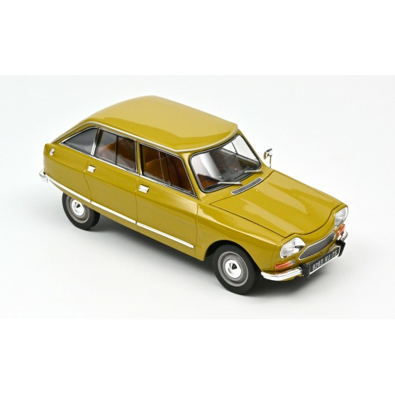 Citroën Ami 8 Club 1969 Bouton d'Or Yellow 1:18