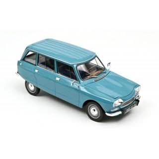 Citroën Ami 8 Break 1975 Pétrel Blue 1:18