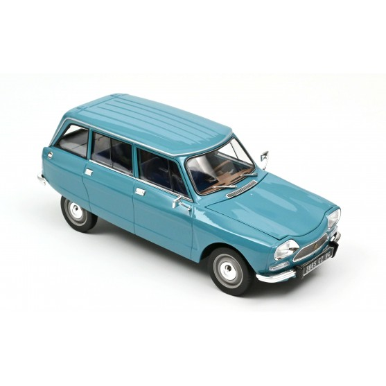 Citroën Ami 8 Break 1975 Pétrel Blue 1:18