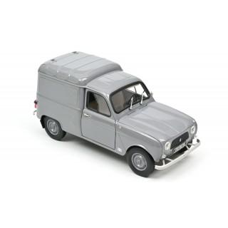 Renault 4 Fourgonnette 1965 Grey 1:18