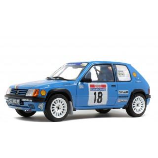 """Peugeot 205 Rallye """"Tour De Course 1990"""" H. Vericel - C.Hollier 1:18"""