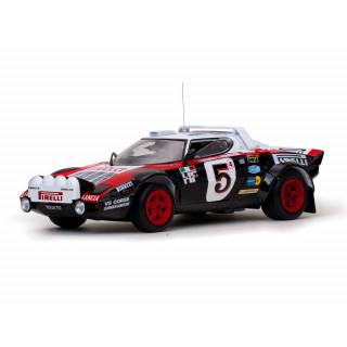 LANCIA STRATOS HF 5 F.Bacchelli/A.Bernacchini Rallye Monte Carlo 1978 1:18