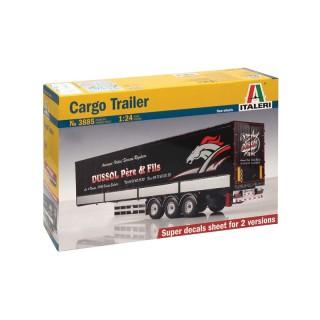 Rimorchio Cargo Trailer Kit 1:24