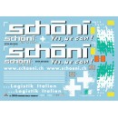 "Semirimorchio Curtainside Trailer ""Schoeni.ch"" Kit 1:24"