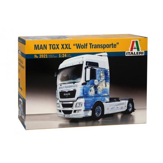 "MAN TGX XXL ""Wolf Transporte"" Kit 1:24"