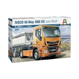 Iveco Hi-Way 480 E5 Low Roof Kit 1:24