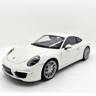 Porsche 911 (991) Carrera S white 1:18