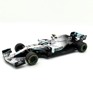 Mercedes Amg Petronas W10 EQ Power F1 2019 Valtteri Bottas No Figure 1:43