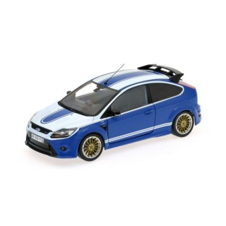 Ford Focus RS 2010 Le Mans Classic Edition 1972 Ford Capri Tribute 1:18