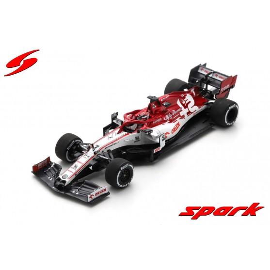 Alfa Romeo Racing Orlen F1 Team C39 Test pre Season 2020 Kimi Raikkonen 1:43
