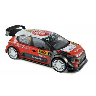 Citroën C3 WRC 7 Winner Espagne 2017 - K.Meeke / P.Nagle 1:18