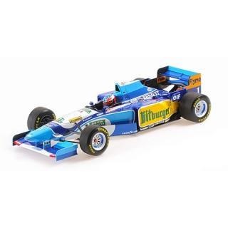 Benetton Ford B195 Michael Schumacher winner Monaco GP 1995 1:18