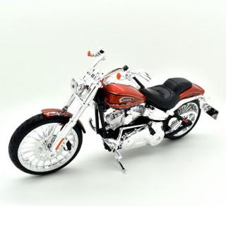 Harley Davidson Cvo Breakout 2014 Orange Black 1:12