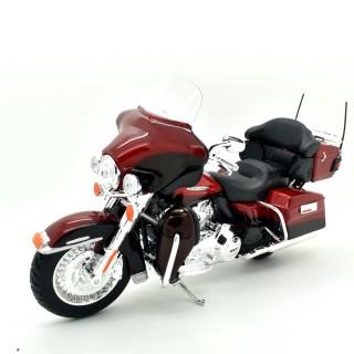 Harley Davidson FLHTK Electra Glide Ultra Limited 2013 Rosso metallizzato 1:12