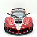 Ferrari FXX K Red with stripes 44 M. Luzich 1:18
