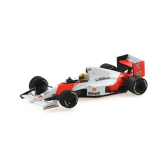 Mclaren Honda MP4/5B F1 1990 Japanese Gp Ayrton Senna 1:43