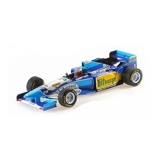 Benetton Ford B195 Michael Schumacher winner Pacific GP 1995 1:18