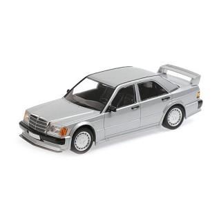 Mercedes-Benz 190E (W201) 1982 Silver 1:18