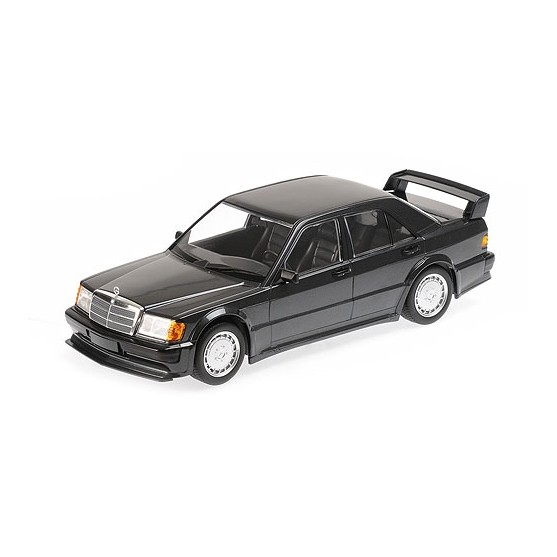 Mercedes-Benz 190E (W201) 2.5-16 EVO 1 1989 Blue Black Metallic 1:18