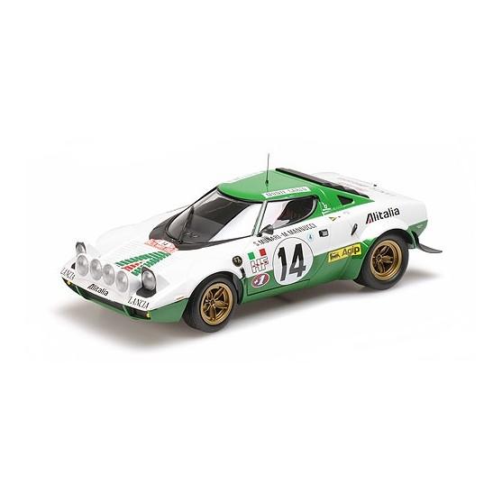 Lancia Stratos Alitalia 1975 Munari - Mannucci Winners Rally Monte Carlo 1:18