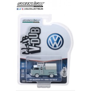 "Volkswagen T2 1974 Double Cab Pick Up ""Club Vee-Dub series 8"" 1:64"