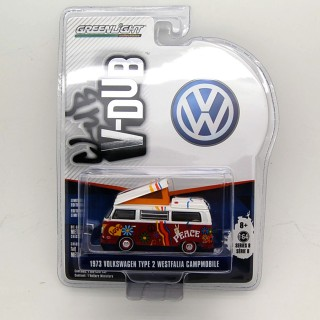 "Volkswagen T2 1974 Westfalia Campmobile Peace ""Club Vee-Dub series 8"" 1:64"