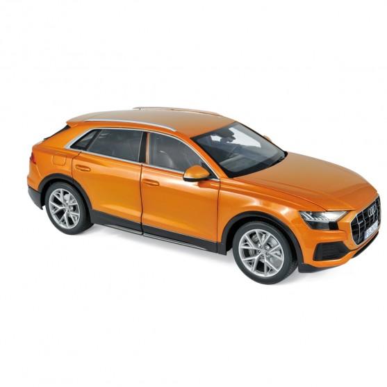 Audi Q8 2018 Orange metallic 1:18