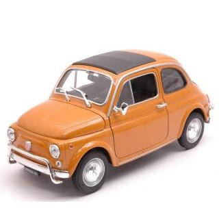 Fiat Nuova 500 Giallo Ocra 1968 1:18