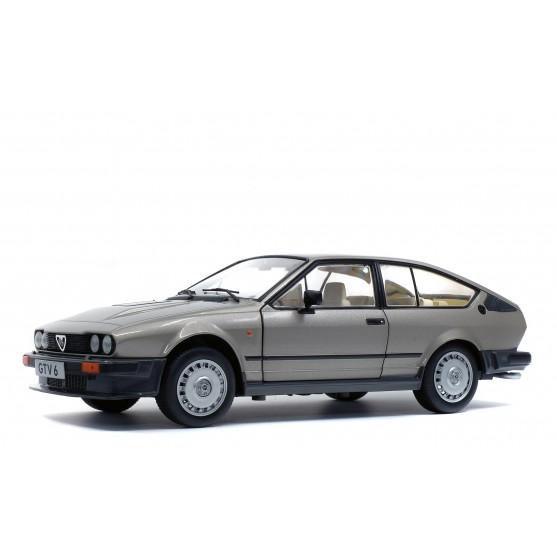 Alfa Romeo GTV6 1984 Silver 1:18